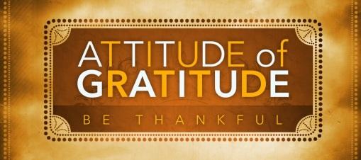 attitude gratitude